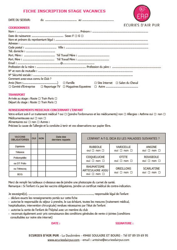 Fiche-Inscription-Stage-Vacances