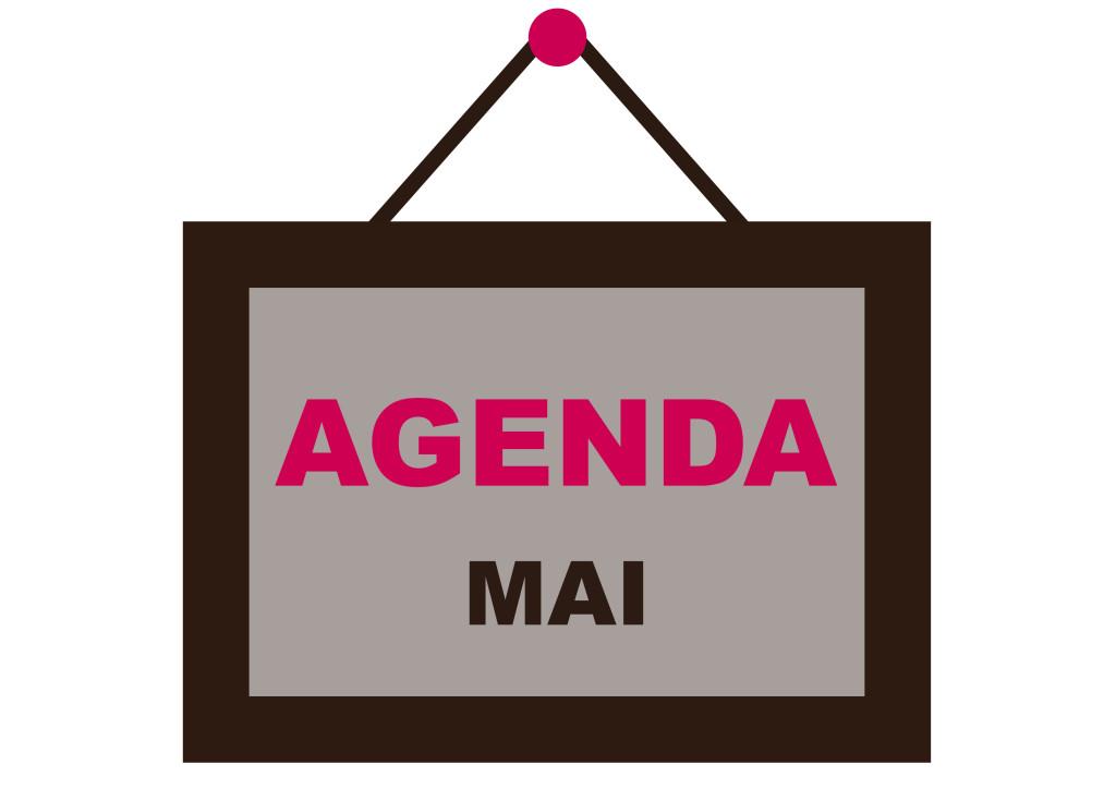 AGENDA MAI pour NEWS FB