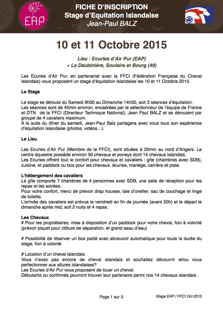 Stage FFCI Oct 2015 JPB PAGE 1