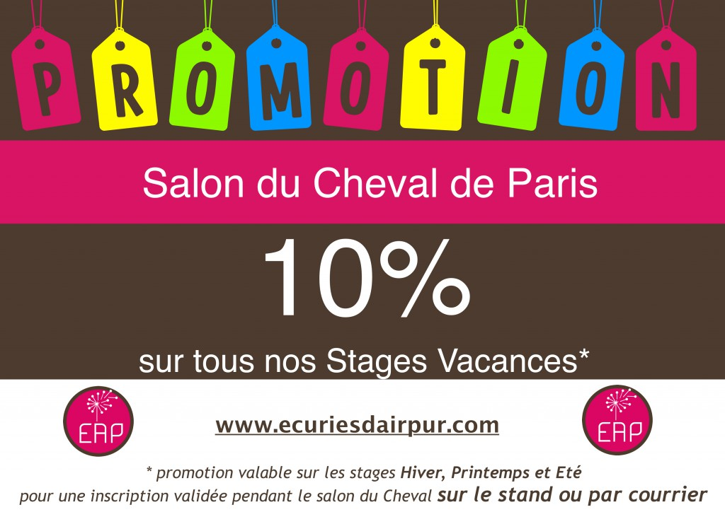 promo salon du cheval