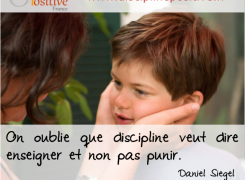 Ateliers « Discipline positive » pour les parents